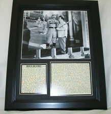 11X14 FRAMED WHO'S ON FIRST ABBOTT AND &  COSTELLO 8x10 PHOTO + BUD LOU