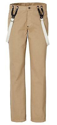2-tlg 5 Pocket Pantaloni Tg 46 Beige Uomo Pantaloni Jeans Uomo Pants Nuovo-mostra Il Titolo Originale Originale Al 100%