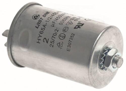 Betriebskondensator Anschluss Flachstecker 6,3mm Becherkondensator ø 40mm 2µF