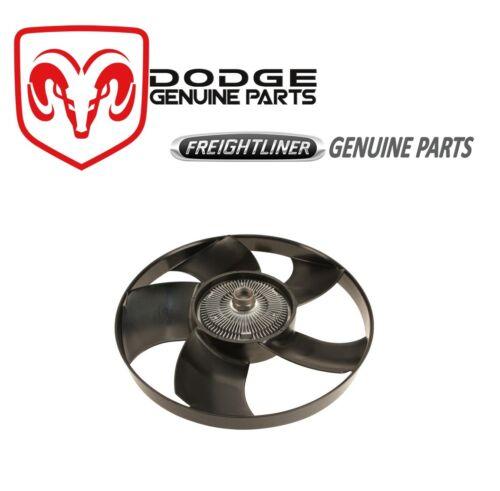 For Dodge Sprinter Freightliner Engine Fan Blade Clutch Cooling Assembly Genuine