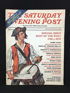 VTG Saturday Evening Post Magazine Bicentennial Issue July/ Aug 1976 Pullout