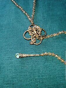 Gorgeous-Heidi-Daus-034-Never-Ending-Elegance-034-Beaded-Lariat-Necklace-Detailed