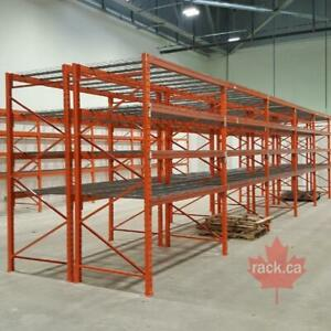Industrial Shelving - Pallet Racking - Guardrail - Mezzanine - Cantilever - Wire Partition Thunder Bay Ontario Preview