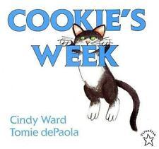 Cookie's Week by Cindy Ward (1997, Paperback)