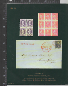 Stamp-Auction-Catalog-United-States-Collections-of-Keenan-Parker-Manthey-1998