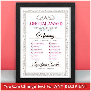 BEST-MUMMY-AWARD-Personalised-Birthday-Christmas-Gifts-for-Mummy-Mum-Nanny-Nan