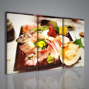 Quadro tagliere pesce quadri moderni per arredamento for Quadri moderni per arredamento