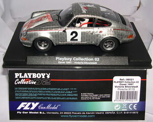 Fly 99021 Porsche 911 Playboy Collection 02 Coque 1997 V.silverstedt Mb