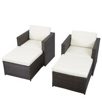 4-Piece Outdoor Patio Sofa Set