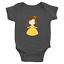 Infant-Baby-Rib-Bodysuit-Jumpsuit-Romper-Clothes-Beauty-amp-Beast-Princess-Belle thumbnail 1