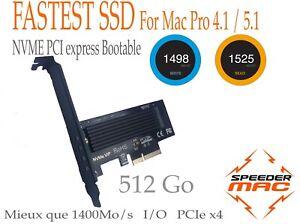 FAST-SSD-PCI-Express-NVME-x4-512-Go-1500Mo-s-Mac-Pro-4-1-ou-5-1-Bootable
