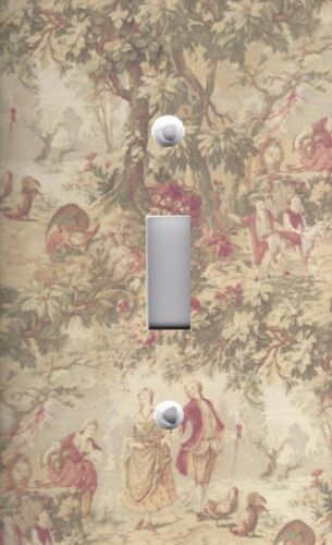 Light Switch Plate Switchplate /& Outlet Covers MIRABELLA TAPESTRY TOILE