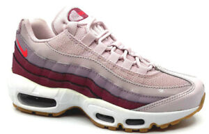 official photos 0090b b2a2b Image is loading Nike-Air-Max-95-Womens-Sneaker-Barely-Rose-