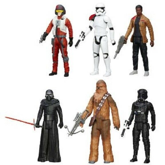 STAR WARS - - - TITAN 11  FIGURE SET (6 action figures)   - New in box 098009