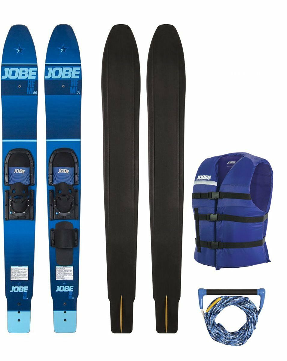 Jobe HEMI Paquete esquí acuático Ancho Par Esquís