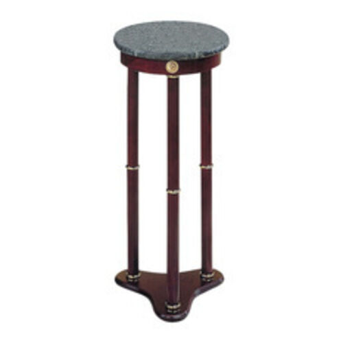Pedestal Plant Stand Marble Top Solid Wood Flower Home Decor Indoor Furniture Ebay
