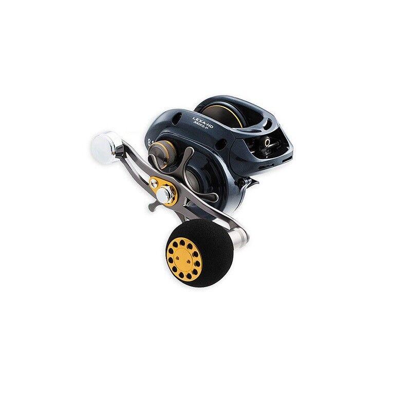 Daiwa Lexa 400HD Bait Cast Reel Heavy 7.1:1 Gear Ratio - RH Lexa-HD400HS-P