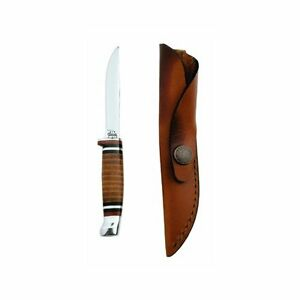 Case-Cutlery379CaseM3FINN-LeatherHunter-with-Stainless-Steel-Fixed-Blade-Leather