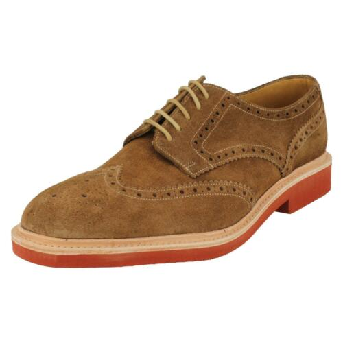 £ Fitting Lace 00 Oded Da Loake Suede F Marrone 129 Up Shoe Logan Mens qIpwvv