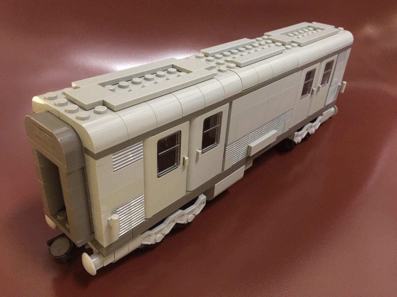 Raro conjunto de coches de LEGO de 10025 Santa Fe 1 con manuales + Nuevo Pegatinas 2002 Usado