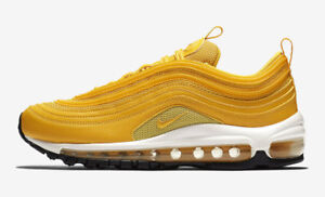 Nike Air Max 97 Mustard Yellow White 921733 701 Women's Men's Running Shoes Trainers 921733 701A