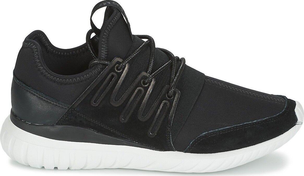 c56cc12500f adidas Tubular Radial Mens Aq6723 Black White Neoprene Running Shoes ...