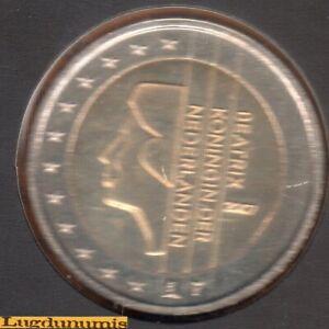 Pays Bas 2007 2 euro BU FDC Pièce neuve du coffret BU 40000 Exemplaires - Nether