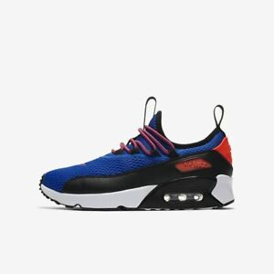 Details about NIKE AIR MAX 90 EZ GS RACER BLUE CRIMSON BLACK RUNNING ( AH5211 400 ) SIZE 6Y