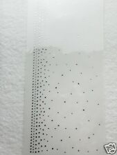 Hotfix Bügelbild Strass traumhafte Borte Jacke Saum Umhang Vorhang 120404