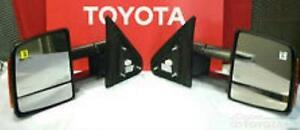 OEM Toyota Tundra Power Towing Mirror Set 87910-0C221 87940-0C221 FITS 2009-2020