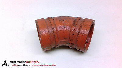 Efficient Victaulic No 11 2/60.3 45 Degree Elbow Fitting #210703