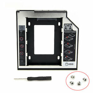 Universal-9-5mm-SATA-2nd-HDD-SSD-Hard-Drive-Caddy-For-CD-DVD-ROM-Optical-Bay