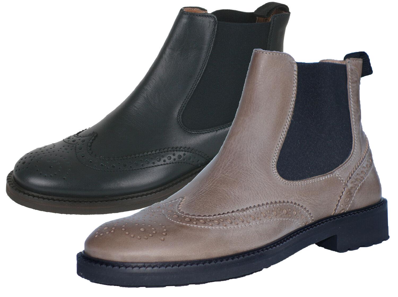 Los zapatos más populares para hombres y mujeres Grandes zapatos con descuento Gallucci 5078B Leder Mädchen Damen Schuhe Chelsea Boots Stiefeletten 31-41 Neu