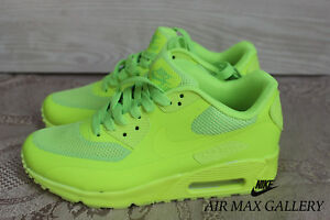 new concept ee3c4 f18be Image is loading NIKE-AIR-MAX-90-HYPERFUSE-PREMIUM-VOLT-454446-