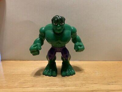 Playskool Heroes Marvel Super Hero Adventures Hulk From Mech Pack Jump Action