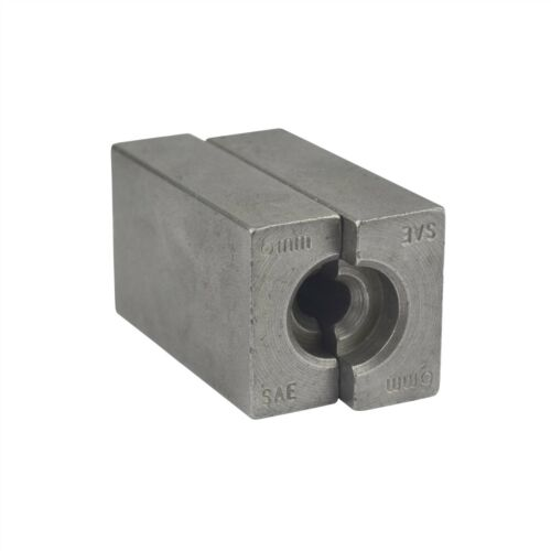 6mm SAE Brake Pipe Flaring Flare Tool Split Die Clamp FL40