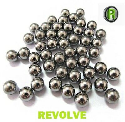 """9.5mm Ball Bearings Catapult Slingshot Ammo 3/8"""" Steel Balls x 100"""