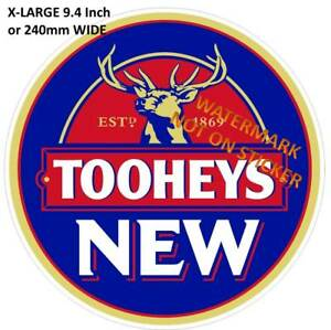TOOHEYS-NEW-BEER-DECAL-STICKER-LABEL-LARGE-240mm-DIA