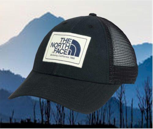 New The North Face Mudder Black Snapback Trucker Hat