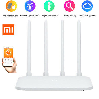 Xiaomi Mi 4 Antennas 2.4GHz WiFi Wireless Router 300Mbps APP Control 64MB ROM