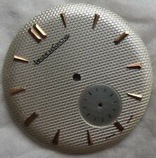 Jaeger LeCoultre textured mens wristwatch dial 31,5 mm. in diameter
