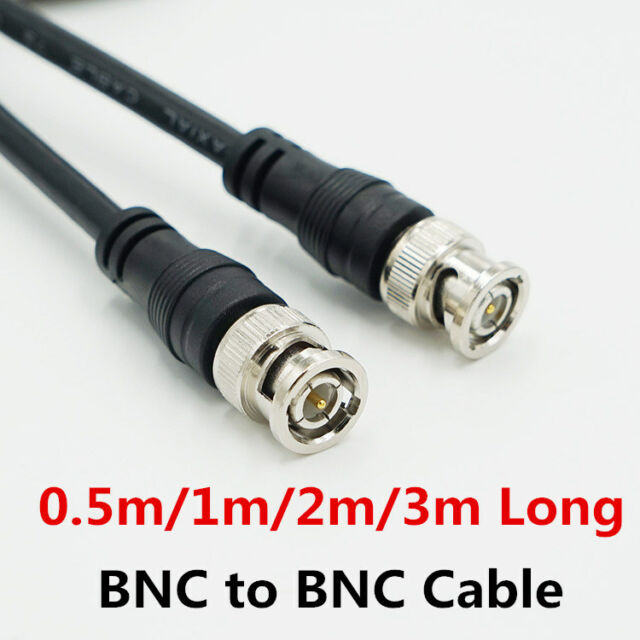 10m Long BNC Video Cable RG58 Coaxial Patch Lead For CCTV Camera to DVR