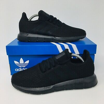 *NEW* Adidas Originals Swift Run Men's Running Shoes All Black Athletic Sneakers | eBay