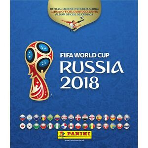 Details about 2018 PANINI WORLD CUP SOCCER HARD COVER ALBUM FREE SHIPPING