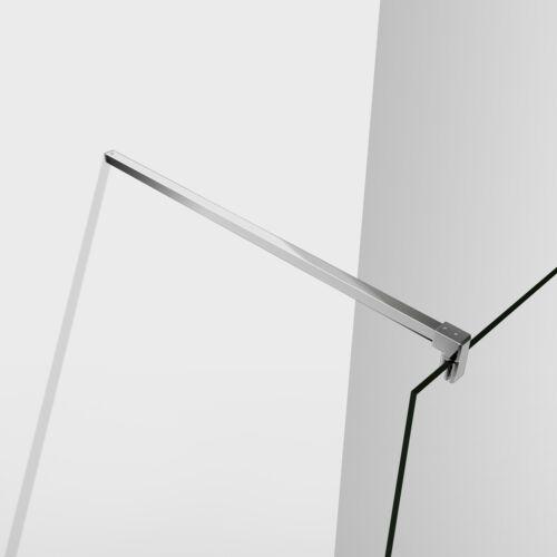 8mm Nano-glas Duschwand Walkin Duschkabine Dusche Duschabtrennung 70x200cm