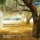 James Cohn: Symphonies Nos. 3, 4 & 8; Miniatures (CD, Oct-2012, MSR Classics)