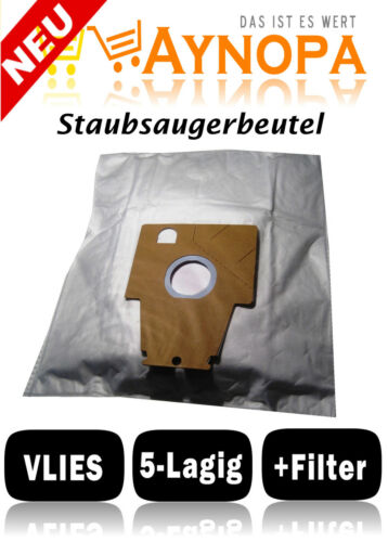 Sacchetto per aspirapolvere per Bosch Ergomaxx PRO PARQUET BSG 82022 BSG 82422 Top tessuto non tessuto