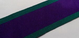 GSM-Full-Size-Medal-Ribbon-Army-Various-Lengths-General-Service-CSM-Ireland