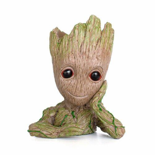 Groot POT DE FLEURS//PLUMES réservé-La figurine de-Marvel /'s SPA of t