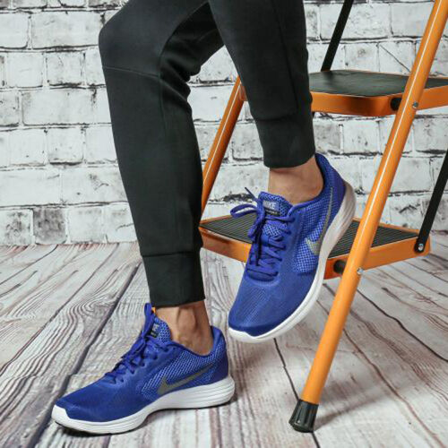 Blue 3 Uk 9 Casual 44 Shoes Deep Nike Trainers Running Revolution Gym eu 5qCp7
